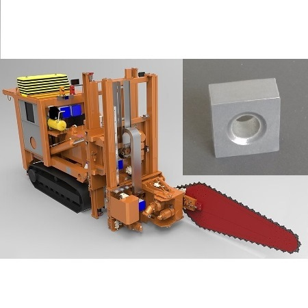 Tungsten Carbide Tips for Chain Saw Machine