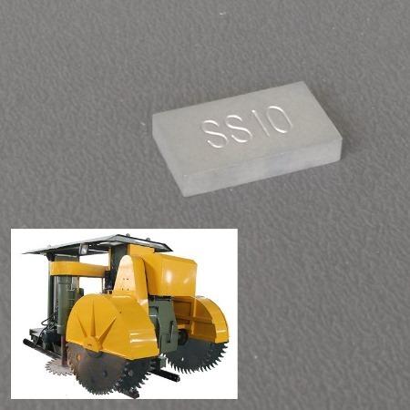 SS10 Carbide Tips for Quarry Machine
