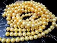 Golden Pearl 8mm beads