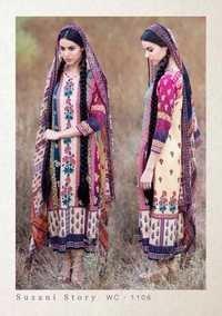 Gokul moonga cotton silk suit