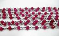 Ruby Beads Handmade Chains