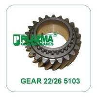 Gear Z-22/26 5103 Green Tractors