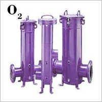 Oxygen Gas Filter Housing