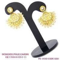 Antique Polki Earring