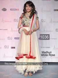 Indian Bollywood Replica Exclusive Designer Net Royal White Anarkali Suit-IB-515-1036