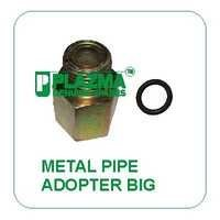 Hyd. Metal Pipe Adopter Big With O'ring Green Tractor