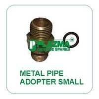 Hyd. Metal Pipe Adopter Small With O'ring Green Tractor