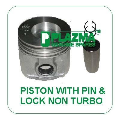 Piston With Pin & Lock Non Turbo John Deere