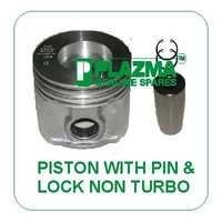 Piston With Pin & Lock Non Turbo Green Tractor
