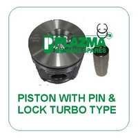 Piston With Pin & Lock Turbo Type Green Tractor