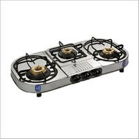 Steel Gas Stove 3 Burner