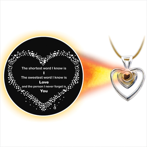 Love and Valentine Pendent