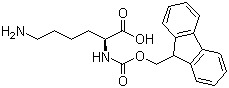 (S)-2-(((9H-Fluoren-9-yl)methoxy)carbonylamino)-6-aminohexanoic acid