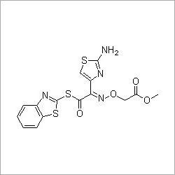 (S)-2-Benzothiazolyl (Z)-2-(2-aminothiazole-4-yl)-2-methoxycarbonylmethoxyiminothioacetate