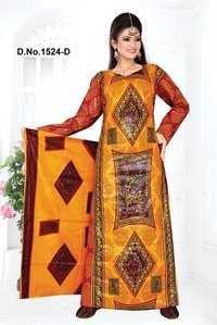 Full Sleeve African Print Kaftan