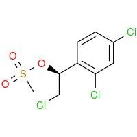 (S)-2-chloro-1-(2,4-dichlorophenyl)ethyl methanesulfonate