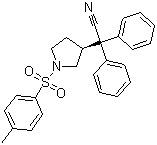 (S)-3-(1-Cyano-1,1-diphenylmethyl)-1-tosylpyrrolidine