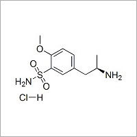 (S)-3-(4'-Methoxy-3'-sulfonamidophenyl)-2-propylamine Hydrochloride