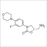 (S)-5-(Aminomethyl)-3-(3-fluoro-4-morpholinophenyl)oxazolidin-2-one