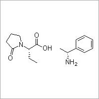 (S)-alpha-Ethyl-2-oxo-1-pyrrolidineacetic acid (R)-alpha-methylbenzenemethanamine salt