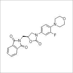 (S)-N-[[3-[3-Fluoro-4-(4-morpholinyl)phenyl]-2-oxo-5-oxazolidinyl]methyl]phthalimide