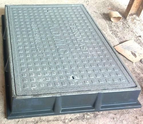 Rectangular Solid Top Manhole Covers