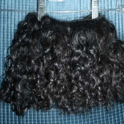 Indian Curly Weft Hair