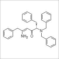 (S,Z)-5-Amino-2-(dibenzylamino)-1,6-diphenylhex-4-en-3-one