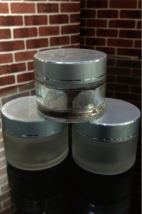 Cosmetic Glass Cream Jar