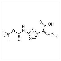 (Z)-2-(2-tert-Butoxycarbonylaminothiazol-4-yl)-2-pentenoic acid