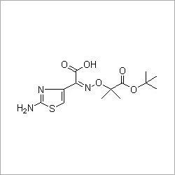 (Z)-2-Amino-alpha-[1-(tert-butoxycarbonyl)]-1-methylethoxyimino-4-thiazolacetic acid
