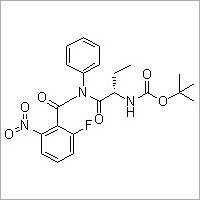 [(1S)-1-[[(2-Fluoro-6-nitrobenzoyl)phenylamino]carbonyl]propyl]carbamic acid 1,1-dimethylethyl ester