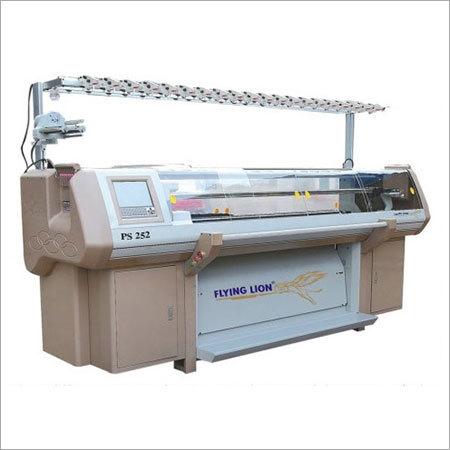 Double System Flat Knitting Machine