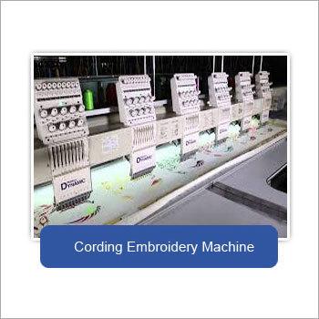 Cording Embroidery Machine