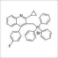 [2-Cyclopropyl-4-(4-fluorophenyl)-quinolin-3-ylmethyl]-triphenyl-phosphonium bromido