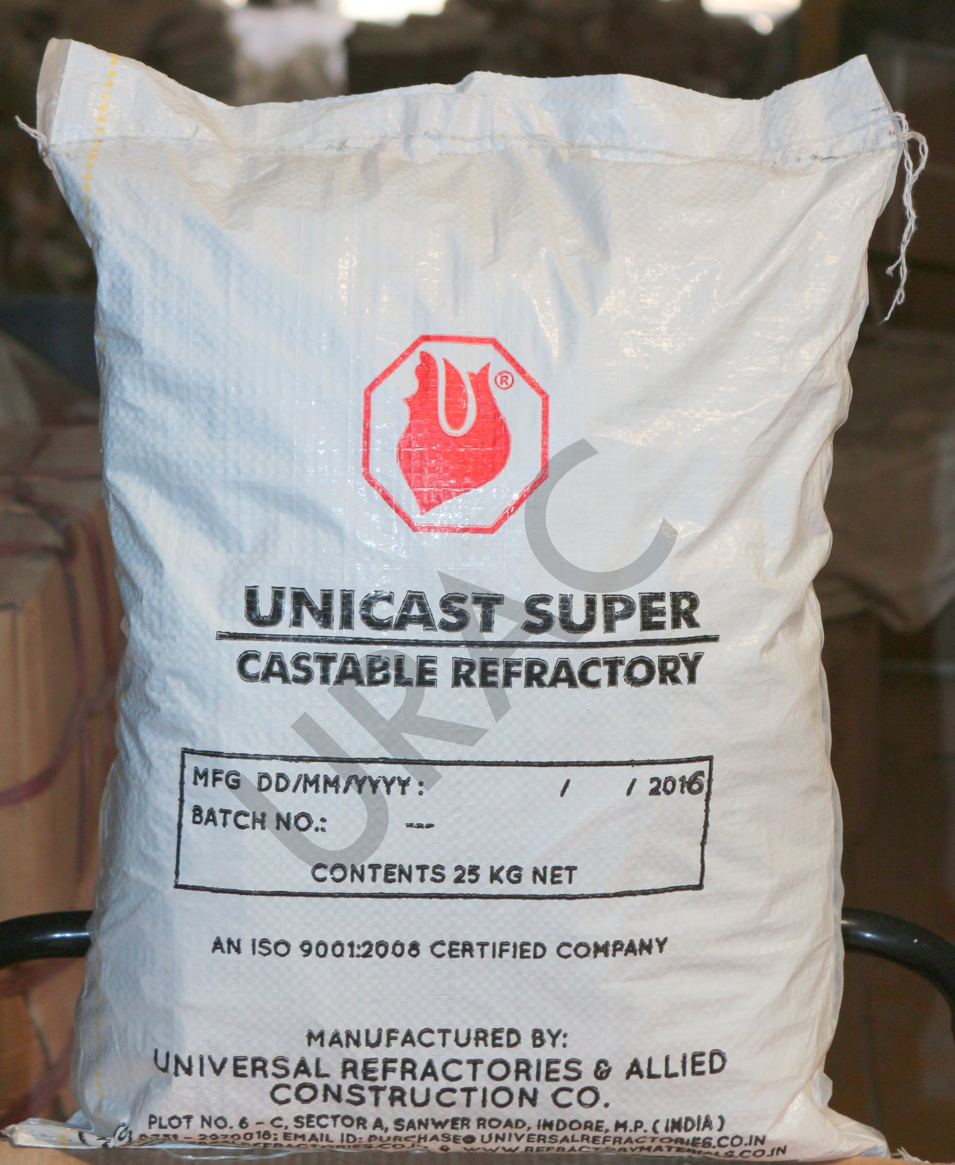 Refractory Unicast Super Castable