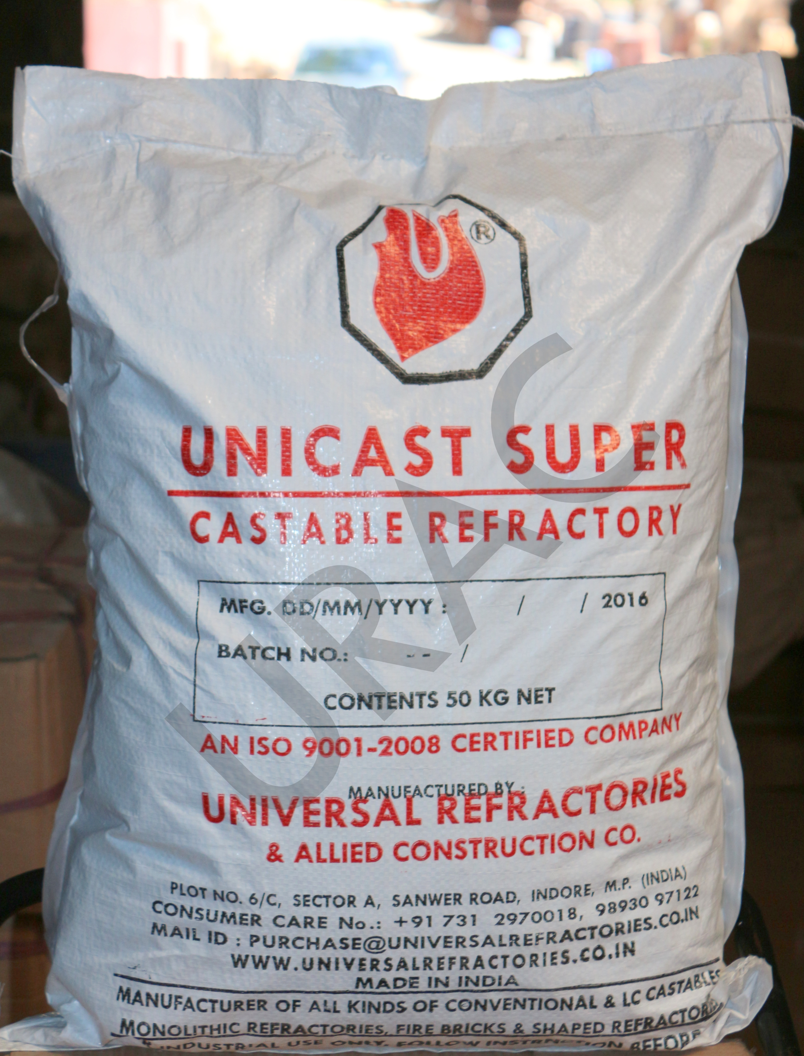 Refractory Unicast Super Castable Manufacturer & Supplier in Madhya