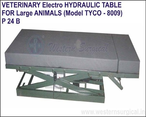 Veterinary Electro Hydraulic Table
