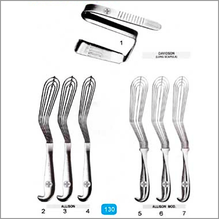 Surgical Instruments for All Medical Branch