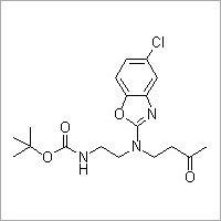 [2-[(5-Chloro-benzooxazol-2-yl)(3-oxobutyl)amino]ethyl]carbamic acid tert-butyl ester