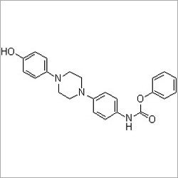 [4-[4-(4-Hydroxyphenyl)-1-piperazinyl]phenyl]carbamic acid phenyl ester