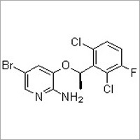 [5-Bromo-3-[(1R)-(2,6-dichloro-3-fluorophenyl)ethoxy]pyridin-2-yl]amine