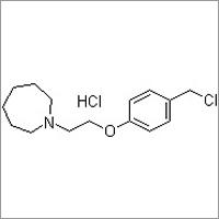 1-(2-(4-(Chloromethyl)phenoxy)ethyl)azepane hydrochloride