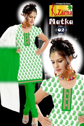 Cotton Print Salwar Suit