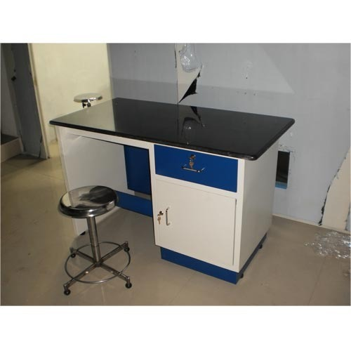Laboratory Table With Stool