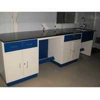 Laboratory Work Table With Sink Unit