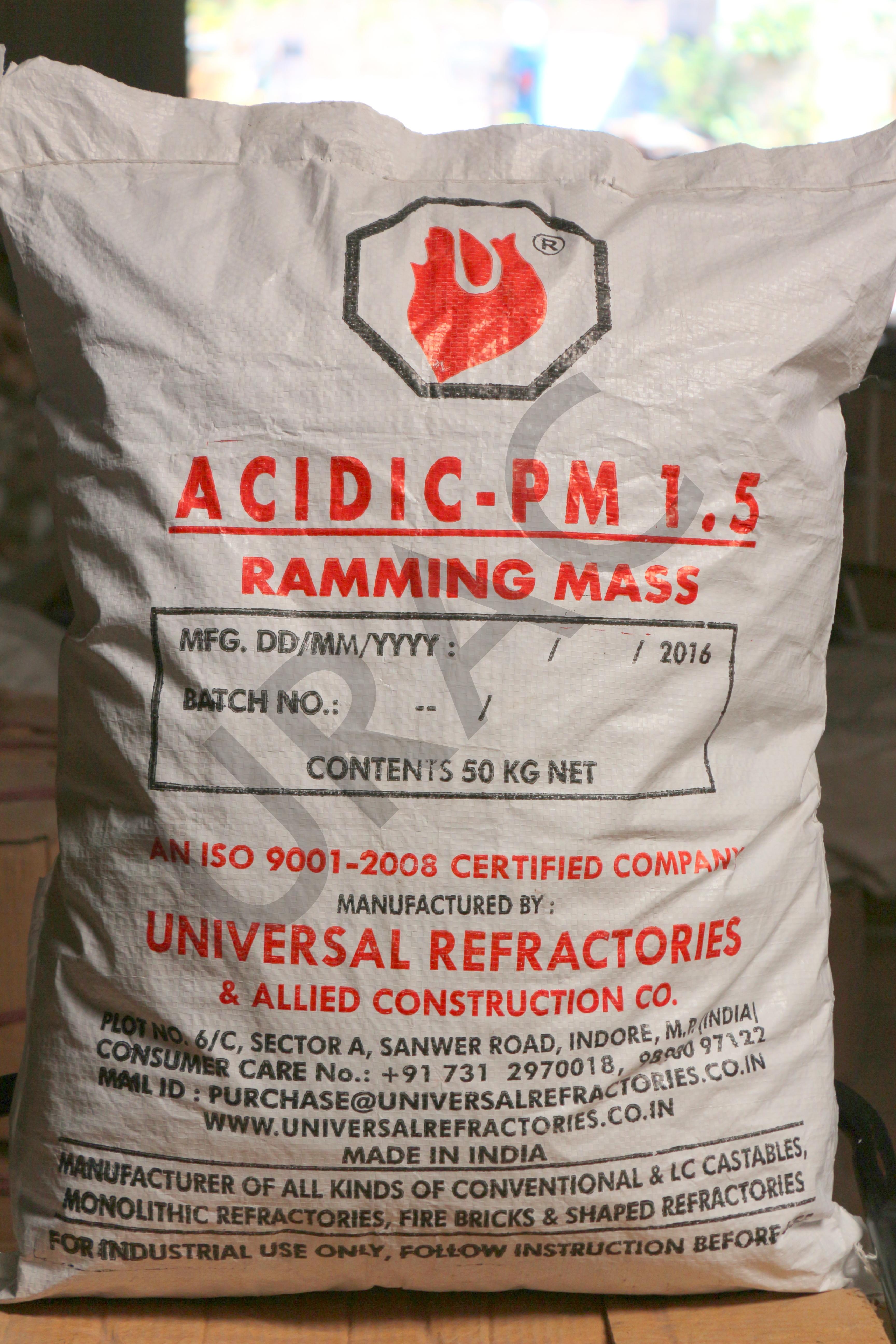 Acidic Ramming Mass