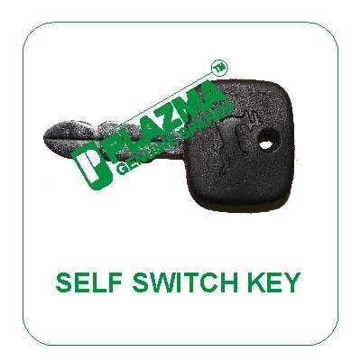 Self Switch Key Green Tractor