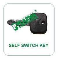 Self Switch Key Green Tractor