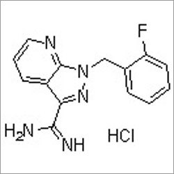 1-(2-Fluorobenzyl)-1H-pyrazolo[3,4-b]pyridine-3-carboximidamide hydrochloride
